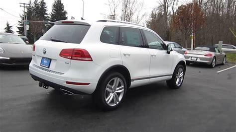 2014 Volkswagen Touareg Pure White Stock 109656 Walk