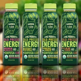 Cold Pressed Juice Secret Garden garden of flavor launches line of quot cold pressed energy
