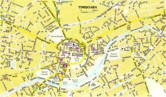 timisoara tourist map timi 197 ÿoara romania mappery