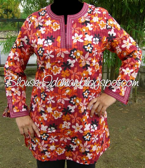 Isaura Xl blouse idaman open house collection