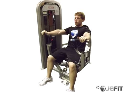 bench press machine exercise database jefit best