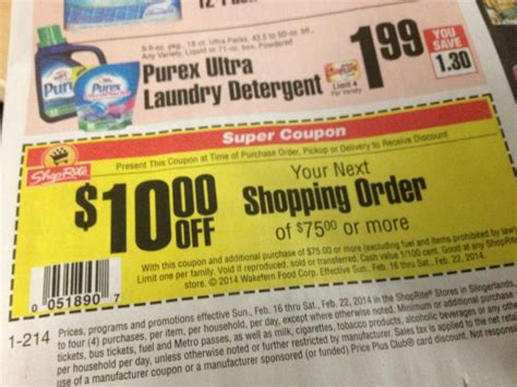shoprite printable shopping list shoprite digital coupons coupon valid