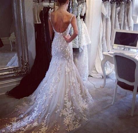 low back wedding dress wedding ideas pinterest low
