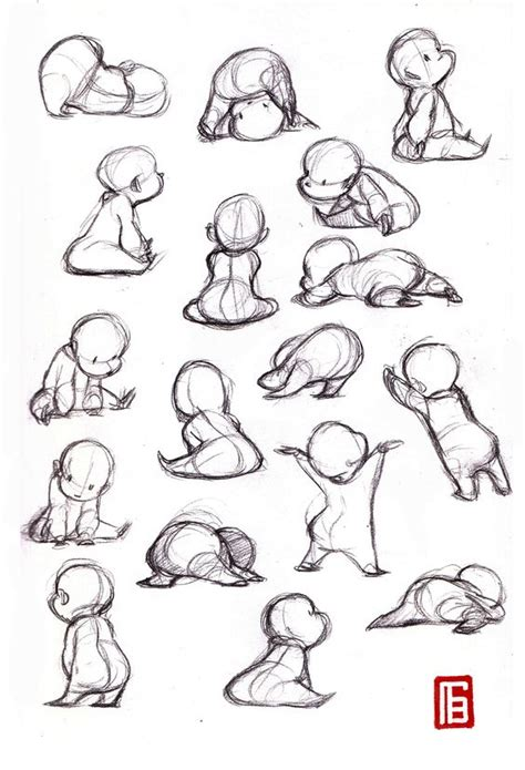 doggy gestures in urban sketching the complete guide gesture drawing baby https www facebook com sjinchoi1234 conceptart charater layout