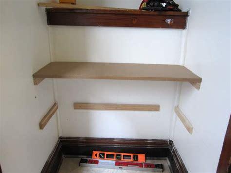 diy built in shelves diy built in shoe shelves pretty handy