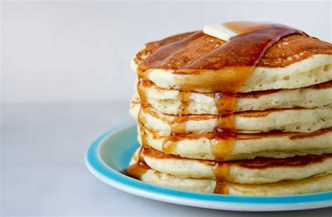 light and fluffy buttermilk pancakes just a taste