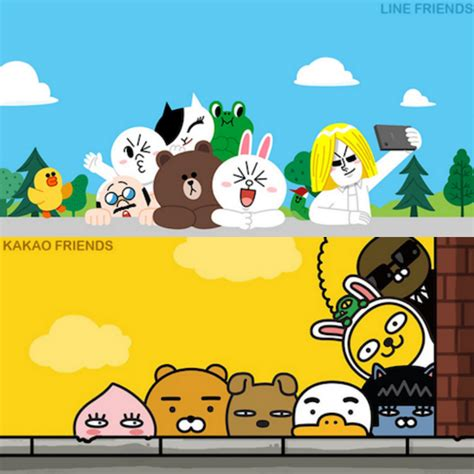 Termurah Pulpen Kakao Talk Friends Kakao Friends與line Friends的超萌戰役 今晚你要選擇 都 幾 Line