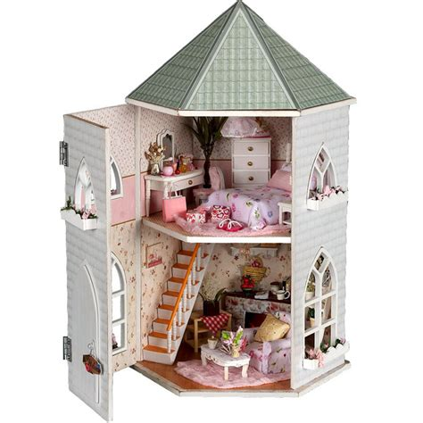 Online Get Cheap Castle Dollhouse Kit Aliexpress Com