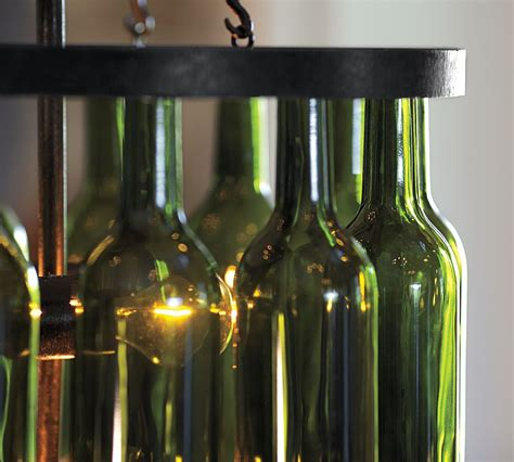 Wine Bottle Light Fixture Chandelier Pottery Barn Wine Bottle Chandelier Gear Patrol