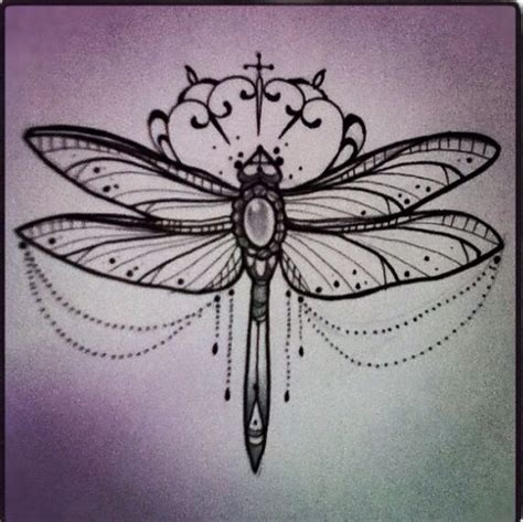 jewelled dragonfly design would look beautiful as a wrist
