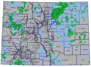 colorado and gas fields map boulder frack ban
