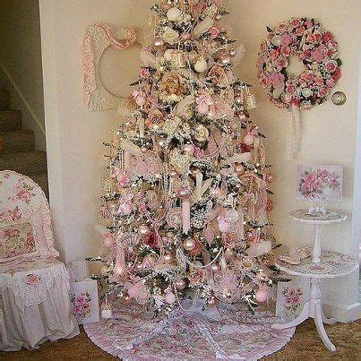 shabby chic christmas christmas trees christmas decor pinterest