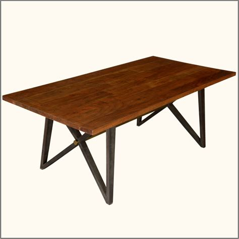 Dining Table Bases Wood Homeofficedecoration Rustic Wood Dining Table Base
