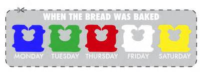 bread tie colors meaning breaking the bread code how to get the freshest loaf