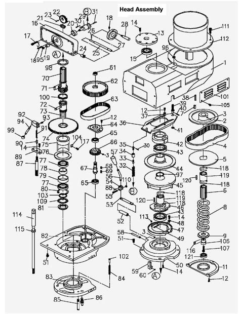 milling machine parts diagram bridgeport milling machine parts diagram car interior design