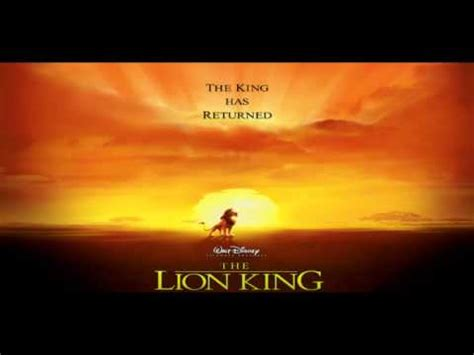 theme song lion king lion king theme 10 min loop youtube