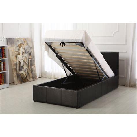 Ottoman Storage Bed Boston Black 3ft Ottoman Storage Bed 3ft Storage Bed Essential Rentals