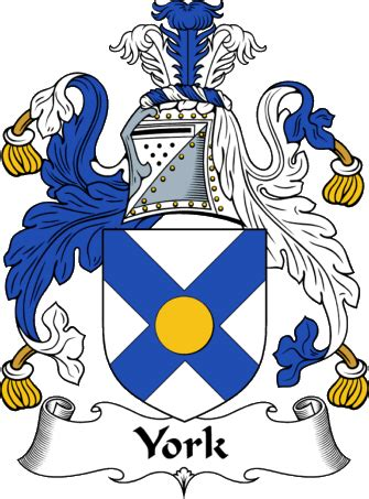 house of york englishgathering the york coat of arms family crest and surname history