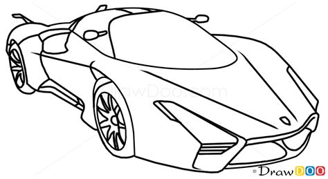 supercar drawing how to draw ssc ultimate aero xt supercars how to draw