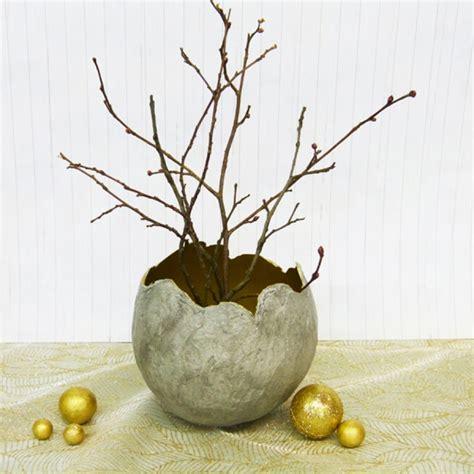 beton vase selber machen deko aus beton selber machen