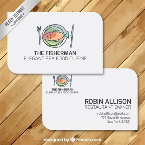 How To Use Restaurant Com Gift Card - business cards of restaurant vector free download