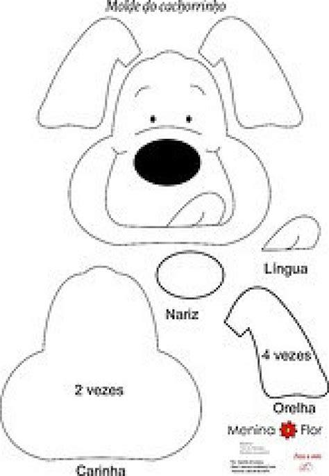 moldes de animales de la granja en goma eva imagui moldes perro goma eva imagui perritos pinterest