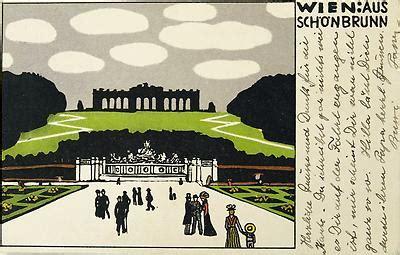 Postkarten Drucken Wien by Wiener Werkst 228 Tte Postkarte Postkarte Historische