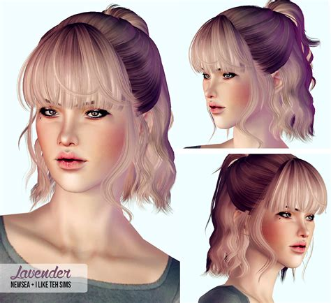 sims 3 custom content females hair bow my sims 3 blog hair retextures by i like teh sims