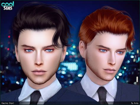 sims 4 cc guys hair fancy curly hairstyle for your lads found in tsr