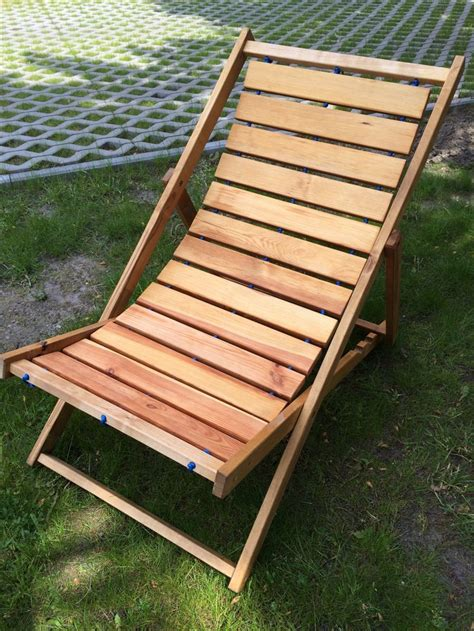 wooden outdoor chair diy scrapwood sunbed deck chair my finished projects