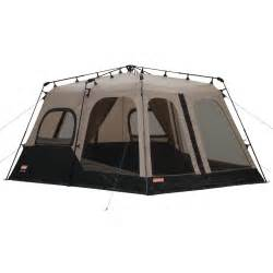 Coleman 10 Person Instant Cabin Tent by Cing Family Tents 8 Person Instant Large Tent 14 X10