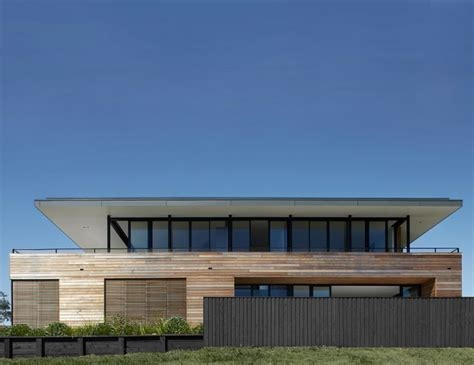 modern coastal house seaside oceanside a timber clad home that maximized its views