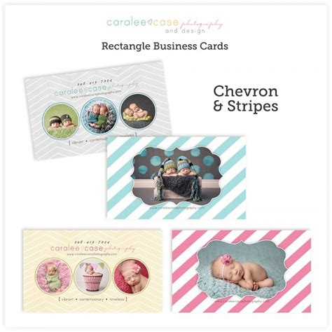 trifol business card template prodpi business cards chevron and stripes 171 caralee photography