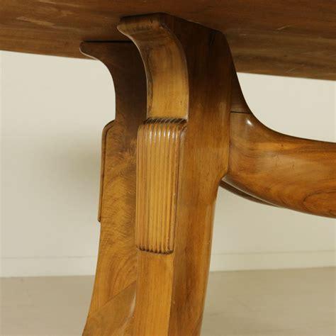 Buchenholz Tisch by Italienischer Vintage Buchenholz Tisch Mit Glasplatte Und