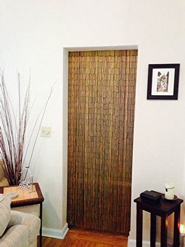 bamboo beaded curtain 125 strands hanging