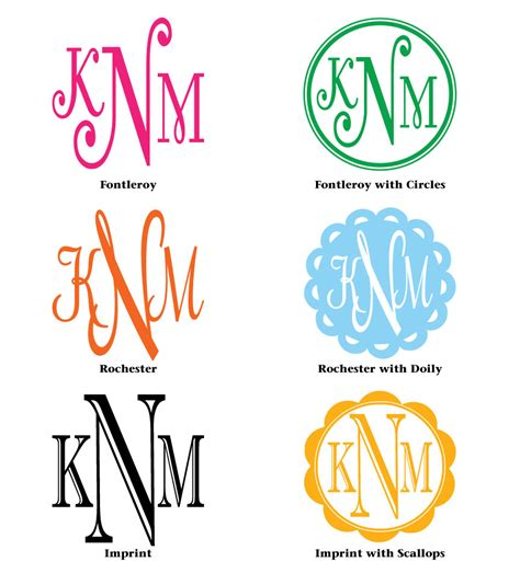 Vinal Wall Stickers monogram decal styles 01 decals stencils signs t