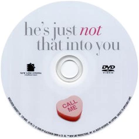 7 Ways To Hes Not Into You by Scanned Dvd Labels Disc Labels Scanned Dvd Labels