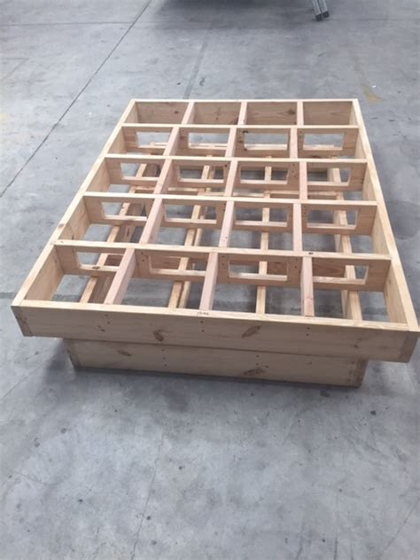 diy size bed frame howtospecialist how to build