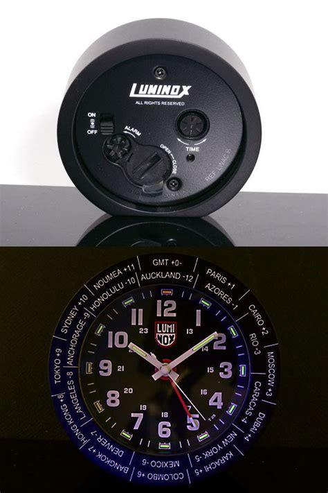 watchlist rakuten global market luminox luminox travel alarm clock table clock lwac b black
