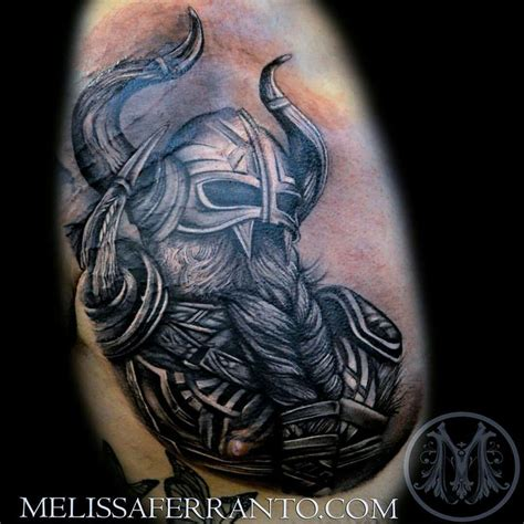 viking tattoo placement viking tattoo by melissa ferranto tattoos