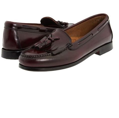womens wide loafers bass weejuns womens washington leather tassle slip on