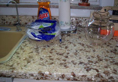 Rock Countertop by What Is This 1960s Countertop Made Of Targinol Luster