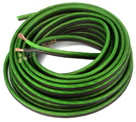 100 ft 16 speaker wire car home audio black green