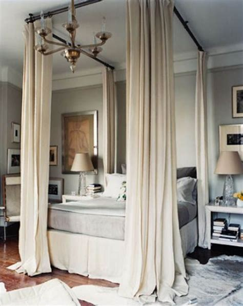 how to make a canopy with curtain rods 78 ideas about canopy bed curtains on pinterest canopy