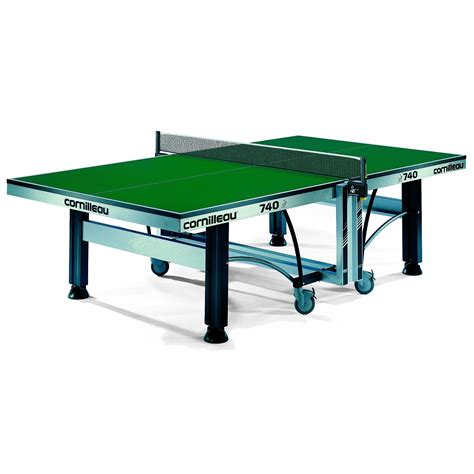 Meja Pingpong Cornilleau Competition 740 Ittf cornilleau ittf competition 740 rollaway table tennis table
