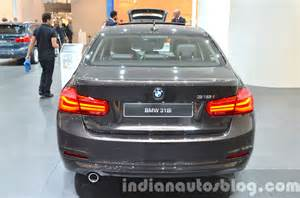 2016 bmw 3 series facelift rear at the iaa 2015 indian