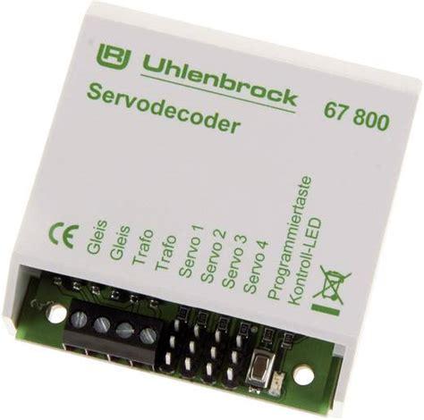 len ohne kabel uhlenbrock 67800 servodecoder baustein ohne kabel ohne