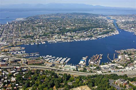 lake union harbor in seattle wa united states harbor - Boat Slip Lake Union