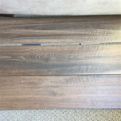 porcelain wood tile grout color light or dark