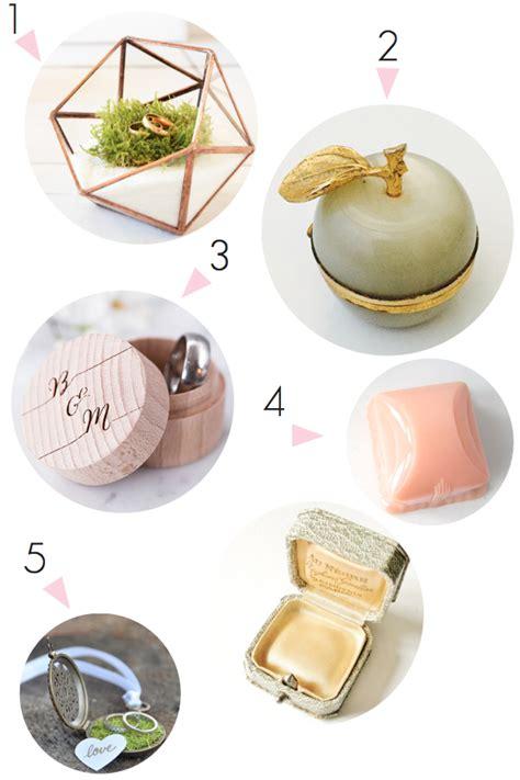 etsy wedding ring box ideas the bijou